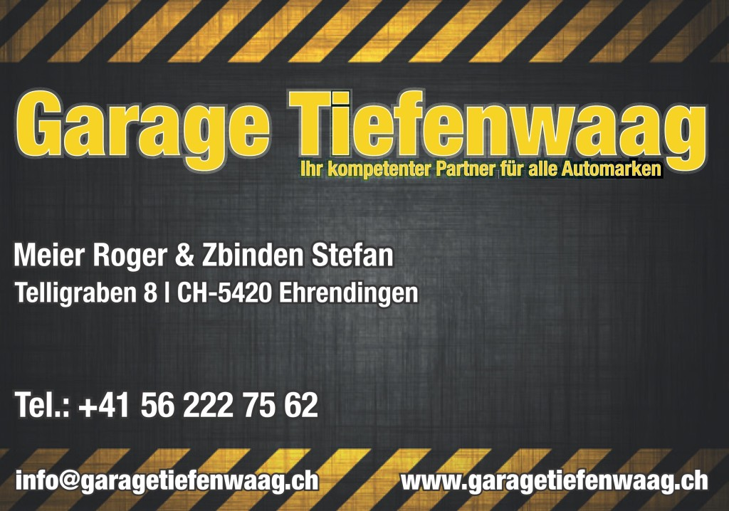 Garage Tiefenwaag
